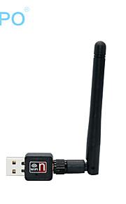 Zapo W90 150m ricevitore wifi mini usb trasmettitore scheda di rete wireless