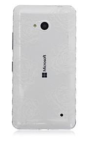 blanco deja el modelo caja del teléfono del tpu material para Nokia N640
