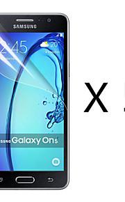 (5 pezzi) ad alta definizione dello schermo protettore flim per la galassia ON5