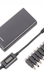 lvsun® 5-24V 4a 15mm ultra slanke universele laptop lader / AC-adapter