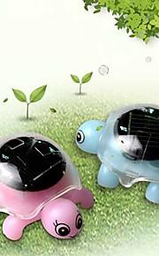 Solar Panel Powered Educational Tortoise Turtle Children Funny Christmas Gift(Random Color)