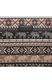 10 '' 11 '' 12 '' elefantunge rhombus mønster lærred taske computer beskyttende cover til MacBook 11,6 / 12 hk lenovo