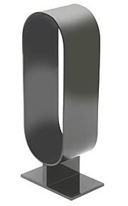 250 milímetros de alta espessura de 4mm acrílico de alta qualidade do tipo elíptica exibição headphone stand - preto