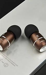 los auriculares del auricular de 3.5mm JBM originales