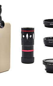 universel 10x optisk zoom teleskop kameralinsen til mobiltelefon iphone 5g 5s 5c 6 samsung i9300 S4 S3 Galaxy Note 2 3