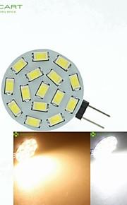 G4 / MR11/ GU4 / GZ4  7.5W 15x5630SMD  Warm White/ White 900LM Led Light Bulbs (9-36V AC/DC)