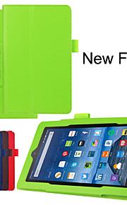 Schutz Tablet-Taschen Ledertaschen Halterung Holster für amazon neues Feuer 7