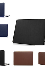 Leather Solid Hard Luxury Ultra Thin Case Cover for macbook Air Pro Retina 11 13 15