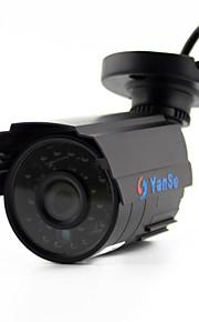 yanse® 1100tvl 2.8mm 1/3 CMOS cctv udendørs / indendørs vandtæt infrarød sikkerhedskameraer d / n