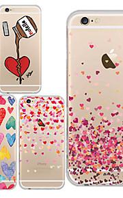 maycari®love um uns TPU Tasche für iPhone 6 / iphone 6s (verschiedene Farben)