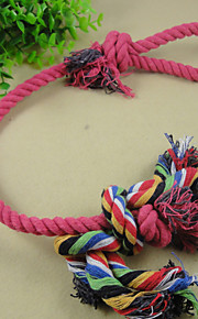 Long Cotton Rope Knot Pet Toys The Cat And Dog Toys Clean Tooth Line Clean Tooth Swing The Ball Tease Cats Tease Dogs