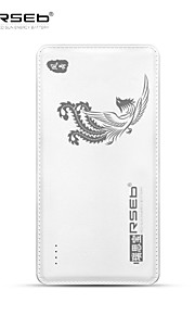 RSEB 10000mAh Power Bank External Battery for iPhone6/Samsung Note4/Sony/HTC and other Mobile Devices Phoenix
