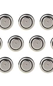 ssuo AG13 / LR44 / A76 / 357a / g13a / L1154 1.55V alkaline cel knop batterijen (10 stuks)