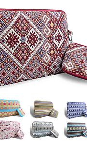 loelmall ® tragen Laptop-Hülle Canvas-Gewebe von 13 bis 13,3 Zoll (Raute)