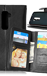 Luxury PU Leather Flip Cover 9 Card Holders Wallet Case For LG L70 (Assorted Colors)