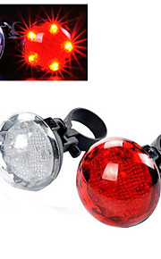 5-LED 3-mode Bicycle Rear/Tail Light Cycling Warning Light
