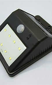 høy kvalitet solenergi 8 LED lys vanntett menneskekroppen induksjon lampe / vegglampe / hage gårds lampe