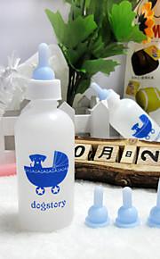 pet bottiglie il gatto e il cane 60ml biberon coniglio (vestito di sette elementi)