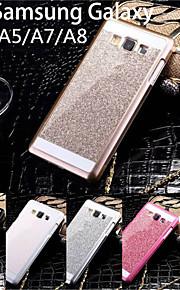 bling cas de téléphone de luxe brille cas de couverture arrière mousseux pour Samsung Galaxy A3 / A5 / A7 / A8