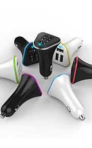 più recente produzione reale 3 caricatore dell'automobile del usb 5.2a intelligente per tutti i dispositivi