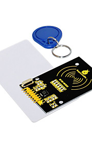 KEYESTUDIO RC522 Module +  White Card Key Chain Suits