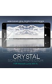 cristal nillkin claro anti-huella digital de cine Protector de pantalla para el Lumia 950 xl