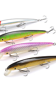 Mizugiwa Fishing Lure Hard Bait Fresh Water Shallow Water Bass Walleye Crappie Minnow float 3 hooks Tackle