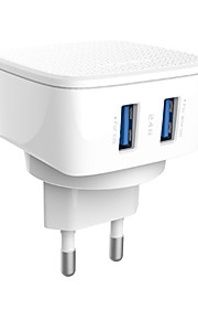 ldnio&dl-ac66 2 porte dual USB caricabatteria spina di UE per dispositivi smartphone Samsung