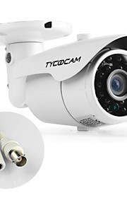 TYCOCAM Altra Low Price 900TVL Waterproof Outdoor and Indoor Security Camera with 15M IR Distance