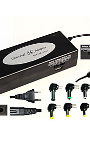 Home &  Car Used Universal Laptop Power Adapter Multi-function USB Interface 120W Black