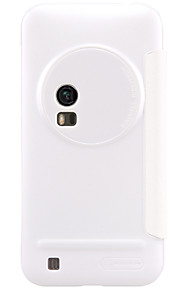 nillkin gnistre serie flip ultra-tynde pu læder cover shell til Asus zenfone zoom zx551ml (assorterede farver)