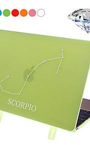 """Скорпион Стиль Защитный чехол крышку жесткого случае с Swarovski Crystal алмазов / стенд для MacBook 12 """"сетчатка (ассорти цветов)"""