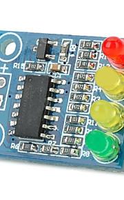 12V 4 LED Battery Indicator Board - Deep Blue