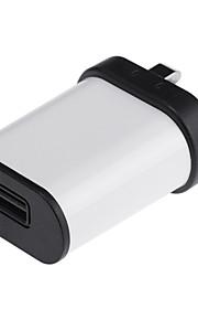 adattatore universale 5v 2a usb potere per il telefono / cellulare iphone / ipad / Samsung Galaxy S6 (AC100 ~ 240v / spina uk)