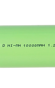 NI-MH 1.2V 10000mAh Rechargeable Battery Green