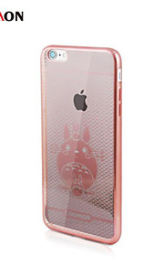 chinchilla electro pc med tilbake tilfelle for iphone6 ​​pluss / 6s pluss (assorterte farger)