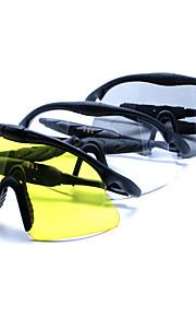 Solbriller mænd's Letvægt / Sport Pilotbriller Sort Solbriller / Sport / Briller / Night Vision Goggles Halvkant