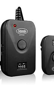 sidande WFC-04 433MHz 16 canais de frequência de flash sem fio gatilho para estúdio câmera Nikon Canon