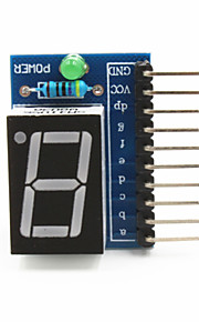 "1-Digit Common Anode 0.56"" Digital Display Module for Arduino+Raspberry Pi - Blue"