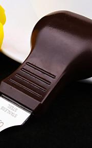 de alta qualidade chapa de aço tipo cabaça ferramenta de alavanca tampa inferior faca de reparação do relógio (cor aleatória)
