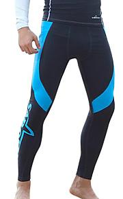 SBART Men's Bottoms / Pants / Swimwear / Drysuits Diving Suit Ultraviolet Resistant / Compression Drysuits 1.5 to 1.9 mm BlueM / L / XL /