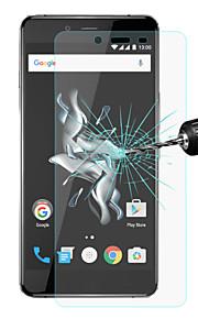 Hat-Prince 0.26mm 9h 2.5d protector de pantalla de cristal templado a prueba de explosiones para OnePlus x