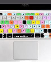 XSKN Final Cut Pro 7 silikon laptop tangentbord täcker flår för MacBook Air 13 tum, MacBook Pro 13 15 17 tum, eu layout