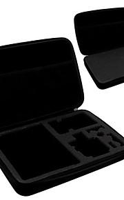 GoPro stor størrelse opbevaringspose med håndtag hero3 + for GoPro hero 4/3 + / 3/2/1-materiale: eva 32,5 * 21,7 * 6.5cm