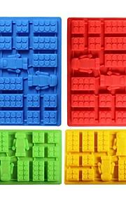 Bakeform Tekneserie Formet For Kake For Is For Sjokolade For Godteri spirende Silikon GummiHøsttakkefest Gør Det Selv 3D Høy kvalitet