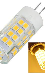 6W G4 LED-lamper med G-sokkel Innfelt retropassform 51 SMD 2835 500-600 lm Varm hvit / Kjølig hvit Dekorativ AC 220-240 V 1 stk.