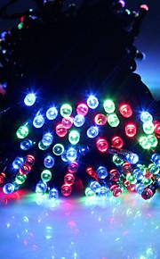 king ro solenergi ledet streng lys 17m 150led 8mode julen bryllup fest dekor lys