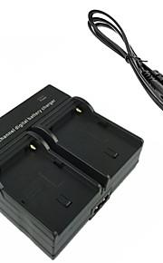 FM50 bateria da câmera digital carregador duplo para Sony F717 F828 s75 s70 s50 s85 a100 FM50 FM55H