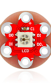 KEYES LilyPad Wearable WS2812 RGB Modules (Red)