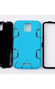 silicone&plastic 3 in 1 armor hybride bescherming achterkant van de behuizing voor Samsung Galaxy Note 3 mobiele telefoon dekking